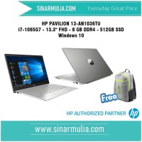 HP Pavilion 13-an1036tu Core i7-1065G7 - 8 GB - 512 GB SSD - Win 10