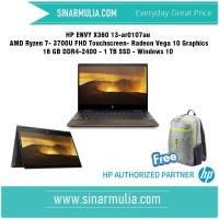 HP ENVY X360 13-AR0107AU AMD Ryzen 7- 3700U 16 GB 1 TB Radeon Vega 10