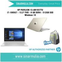 HP Pavilion 13-an1037tu i7-10675G7 - 8GB - 512GB SSD - Win 10