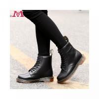 Sepatu Ankle Boots Martin Model England Dr.Martens Bahan Kulit untuk P