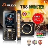 ALDO T88 MONSTER BISA TV ANALOG 5D SPEAKER