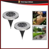 Lampu Taman LED Tenaga Matahari Outdoor - Model Tanam