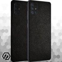 [EXACOAT] Galaxy A51 3M Skin / Garskin - Leather Black