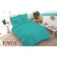 BED COVER SET FATA JACGUARD POLOS EMBOSS ATLANTIS GREEN 120X200