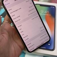 iphone x 256 ex resmi Indonesia ibox spt baru