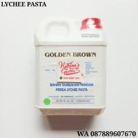 1 KG PERISA LYCHEE GOLDEN BROWN - ESENS LECI