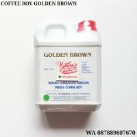 1 KG PERISA COFFEE BOY GOLDEN BROWN - KOPI ESSENCE