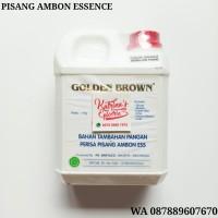 1 KG PERISA PISANG AMBON GOKDEN BROWN - BANANA ESSENCE