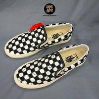 Sneakers Vans Slip On Union Polka Dot Black/White