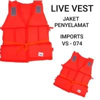 vest foam life jacket fishing live vest ah 074