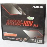 ASROCK A320M-HDV AMD Socket AM4 Athlon / Ryzen Garansi 3 Tahun