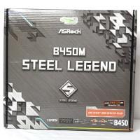 Motherboard Asrock B450M Steel Legend Garansi 3 Tahun