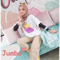 Damai fashion jakarta - baju atasan KAOS JUMBO - big size DRAMA DRAMA
