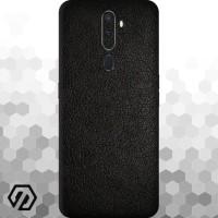 [EXACOAT] Oppo A5 (2020) / A9 (2020) 3M Skin / Garskin - Leather Black