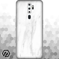 [EXACOAT] Oppo A5 (2020) / A9 (2020) 3M Skin / Garskin - Marble White
