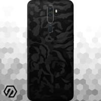 [EXACOAT] Oppo A5 / A9 (2020) Skins 3M Skin / Garskin - Black Camo