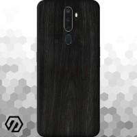 [EXACOAT] Oppo A5 (2020) / A9 (2020) 3M Skin / Garskin - Wood Ebony