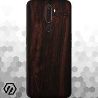 [EXACOAT] Oppo A5 (2020) / A9 (2020) 3M Skin / Garskin - Wood Mahogany