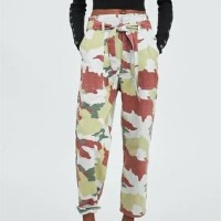 Camouflage Belted Cargo Trousers 2 (size S.M)