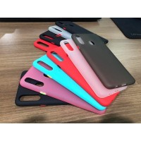 Realme 5i Softcase Button Candy Colors Case