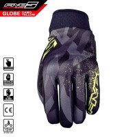 Sarung Tangan FIVE Globe Gloves Camo Fluo Yellow
