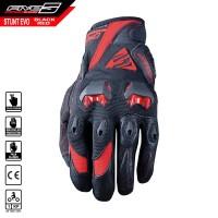 Sarung Tangan FIVE Stunt Evo Gloves Black Red