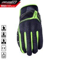 Sarung Tangan FIVE RS3 Gloves Black Fluo Yellow