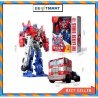 Mainan anak Robot optimus Transformers Deformation