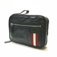 Bally Thames Perforated Black