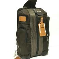 Ready Tumi Higgins Sling Backpack Brown