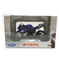 Diecast Motor Welly 08 Yamaha YZF-R1