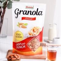 Healthy Granola HONEY 200gr CRUNCH (Oat, Almond, Honey, Palm Sugar)