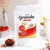 Granola Peanut Butter Cashew 100g CRUNCHY!