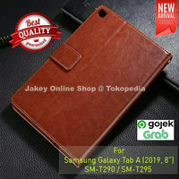 """Samsung Galaxy Tab A 8"""" 2019 T290 T295 FLIP COVER WALLET leather case"""