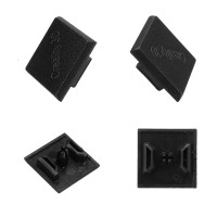 Bs Creality 3D 2020 Black Plastic ABS End Cap Cover for