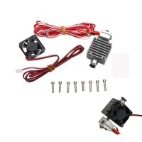 Bs 12v 1.75mm 0.4mm Single Nozzle Extruder Kit with Cooling
