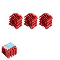 Bs 3PCS/lot Aluminum Heatsink Cooling Block Heatsink With Back