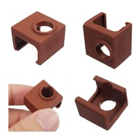 Bs 5pcs MK10 Coffee Color Silicone Protective Case For Heating