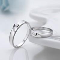 sepasang cincin kawin bagus