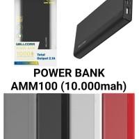 powerbank wellcomm 10000 mah 2 usb