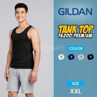 Kaos Tank Top Gildan Premium 76200 Original Size XXL