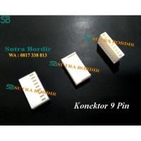 Konektor 9 pin Bordir Komputer dan Industri Lainnya Konektor Molek