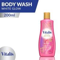 Vitalis Perfume Body Wash White Glow 200 Ml