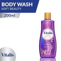 Vitalis Perfume Body Wash Soft Beauty 200 Ml