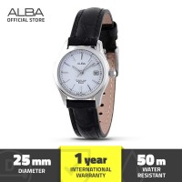 Jam Tangan Analog Leather Wanita Alba Axu035 Original