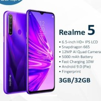 Realme 5 3/32 GB - Garansi Resmi 1 Tahun