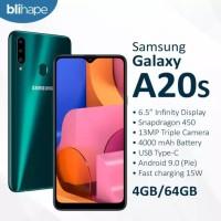 Samsung Galaxy A20s 4/64 GB - Garansi Resmi