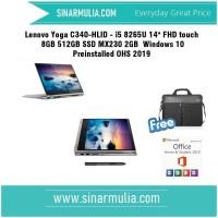Lenovo Yoga C340-HLID - i5 8265U 8GB 512GB SSD MX230 2GB - Platinum
