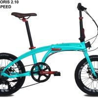 Jual sepeda lipat pacific noris 2.1 terbaru velg tinggi 20