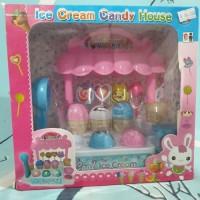 mainan ice cream candy house mainan lapak toko eskrim & permen